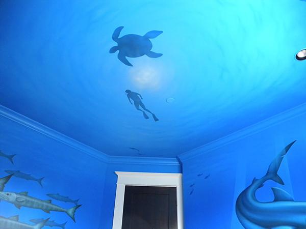Stefano Piccone - Portfolio: Underwater Bedroom